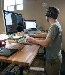 Stand Up Computer Desk Adjustable Working Stand Up Computer Desk Adjustable Home Design Ideas