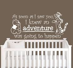 online get cheap baby winnie wall decals aliexpress com alibaba baby quote winnie the pooh tigger multicolor home decoration wall decal nursery removable vinyl wall stickers