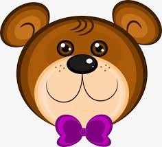 imagenes animadas oso oso de dibujos animados cabeza cartoon brown cabeza de oso imagen