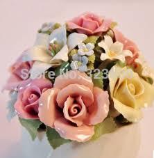 Nice Flower Vases Ceramic Music Box Flower Vase Shape Upscale Clay Underglaze Hand