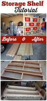 Wood Storage Shelves Plans by Best 25 Storage Shelves Ideas On Pinterest Diy Storage Shelves