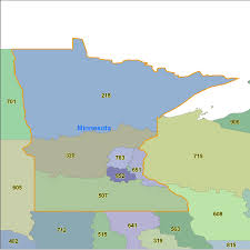 Michigan Area Code Map by Minnesota Area Code Maps Minnesota Telephone Area Code Maps Free
