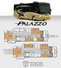 class c floor plans thor motor coach introduces two palazzo models u2013 vogel talks rving