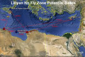 Sigonella Italy Map by Grand Logistics Libyan No Fly Zone Authorised