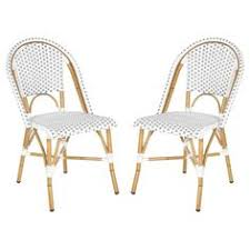 Safavieh Bistro Chairs Set Of 2 Paris Bistro Chairs Ballard Designs Rustic Chic