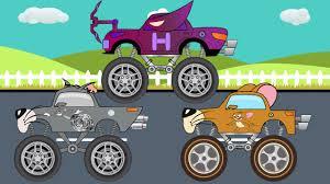 Barton Truck Tom U0026 Jerry Monster Trucks For Children Kids