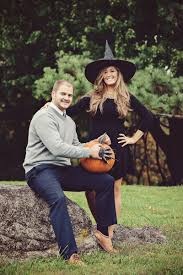 halloween wedding engagement session in maryland colleen kyle