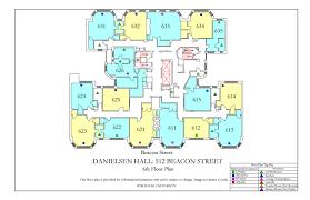 Flooring Plans by Danielsen Hall Floor Plan Housing Boston University