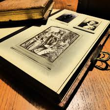 Art Leather Photo Albums Free Images Table Wood Old Book Photos Art Sketch Drawing