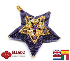 beaded pendant necklace designs images Flower and star pendant beading tutorials by ellad2 the beading jpg