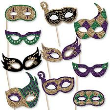 mardi gras glasses mardi gras masks 10 paper card stock mardi gras glasses