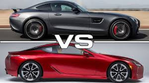 images of lexus lc 500 lexus lc 500 vs mercedes amg gt s youtube