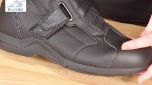 slip on motorcycle boots alpinestars ridge 2 air boots review motorcycle superstore youtube