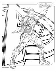 color avengers 2012 coloring pages