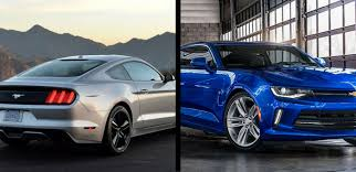 mustang or camaro to 2017 ford mustang vs 2017 chevrolet camaro