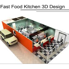 hotel kitchen design stunning shinelong equipment fastfood 23
