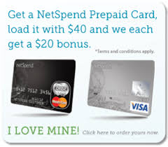 free prepaid cards netspend referral program get 20 once free prepaid account