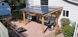 Powered Awnings Pv Rack Innovations Home Power Magazine