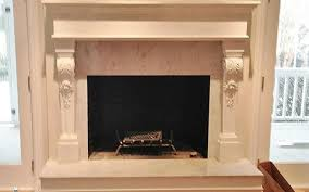 3 sided fireplace mantels all images 3 matching mantels for