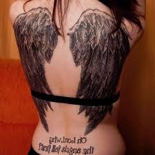 wings on back design ideas