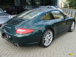 porsche racing colors 2009 porsche racing green metallic porsche 911 carrera s coupe