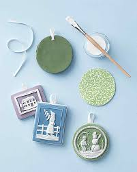 jasperware ornaments martha stewart