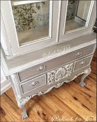 french country toile hutch hometalk