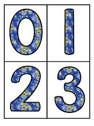 free large number flashcards with a hanukkah design 0 20 use