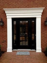 Door Trim Styles by Front Doors Beautiful Front Door Casing Idea 116 Front Door