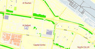 printable abu dhabi road map abu dhabi road map pdf abu dhabi pdf map united arab emirates