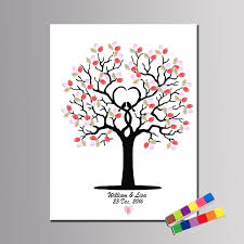 aliexpress com buy creative fingerprint diy leaves signature