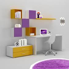 rangements de bureau bureau enfant trés coloré moderne compact so nuit