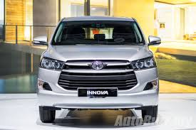 toyota innova first drive 2016 toyota innova 2 0g better in every aspect