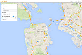 Google Maps Route Planner Multiple Stops by Github Carolineorsi Tripwise Trip Planning App That Searches