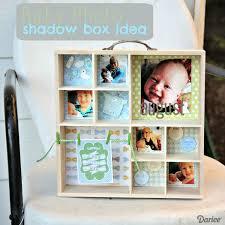 baby shadow box shadow box diy tutorial for baby photos darice