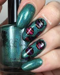 ehmkay nails winter nail challenge decorations ornament