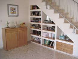 stair bookcase nine clever designs that integrate storage with stairs mocha under