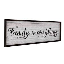 black and white kitchen framed pictures family is everything oversized kitchen framed wall canvas gallery