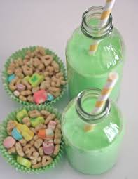 lucky charms and green milk what else make for an easy early