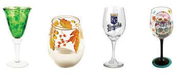 Unique Wine Glasses by Uncork U0026 Unwind Kansas City Homes U0026 Style