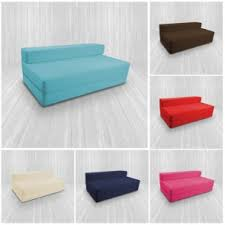 Folding Cushion Bed Fold Out Z Bed Futon Mattress Chair Bed
