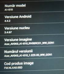 android security policy updates android kitkat 4 4 2 for acer a1 810 tablet has finnaly arrived