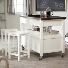Belmont White Kitchen Island aleandria solid granite top portable kitchen island in white
