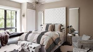 bedroom fancy white leather platform bed with black accents