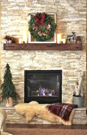 Painted Stone Fireplace Fireplace Dramatic Fireplace Brick Wall House Furniture Painted