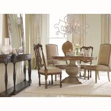 dining tables bernhardt double pedestal dining table dining room
