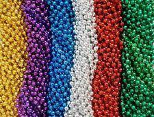 mardi gras beaded necklaces mardi gras favors and bag fillers ebay