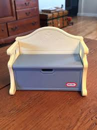 Bench Toybox Little Tikes Storage Bench Little Tikes Victorian Pink Storage