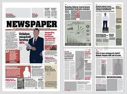 45 printable newspaper templates free u0026 premium templates