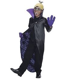 minions costume minions kids dracula minion costume medium ebay